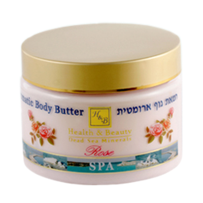 Aromatic Body Butter (Scent-Rose)