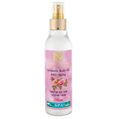 Aromatic Body Oil (Scent - Rose)