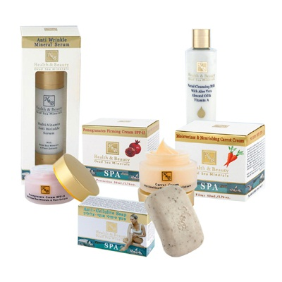 Heath & Beauty Dead Sea Gift Set