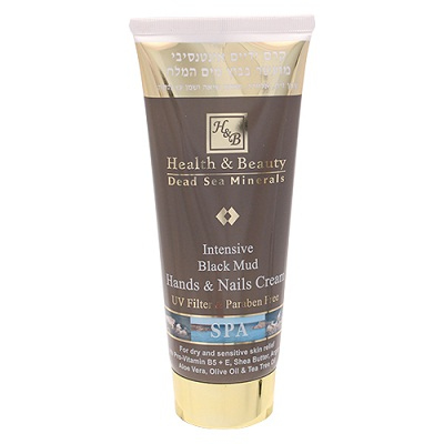 Intensive Black Mud Hands & Nails Cream