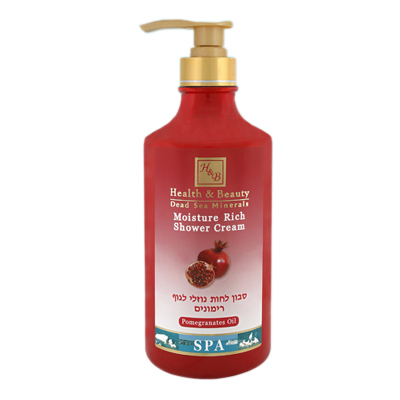 Soapless Moisturizing Pomegranate Body Wash